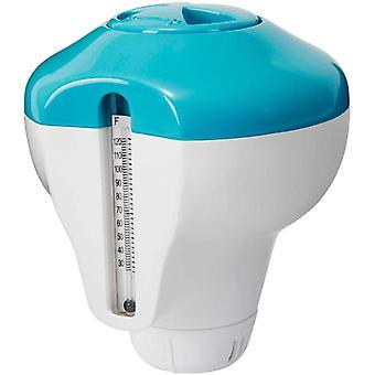 Dispensador de cloro flotante Intex 2 en 1 con termómetro