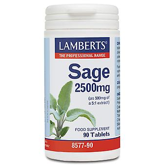 Lamberts Comp. Salvia 2500mg 90Comp