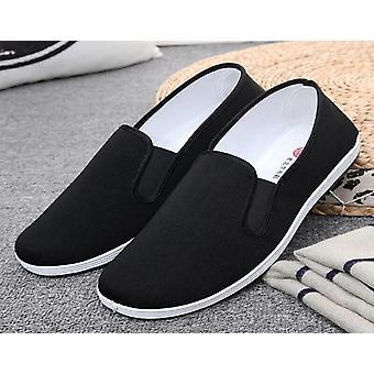 Kiinalaiset Kung Fu -kengät, Puuvilla vintage-tossu, Taistelulajien kenkä