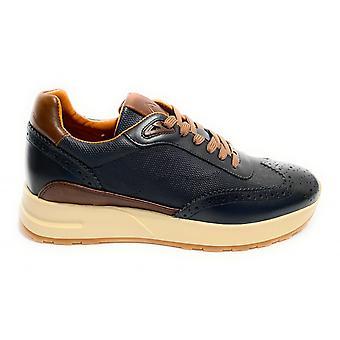 حذاء الرجال الطموح 9809b حذاء رياضي تشغيل اللون الأزرق الداكن U21am28