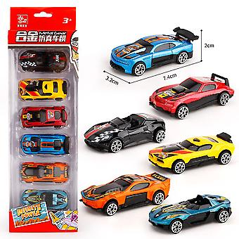 6pcs Mini Racing Car Toy Carro Desarm.