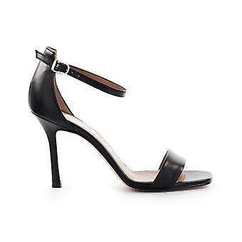 Marc Ellis Black Nappa Leather Sandal