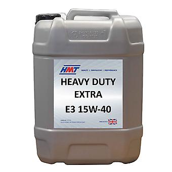 HMT HMTM097 Heavy Duty Extra E3 15W-40 - 20 Litre Plastic