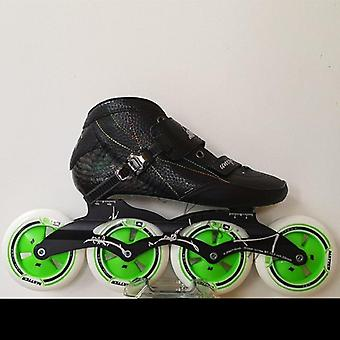 Indoor Speed Racing Long Street Skates Shoes