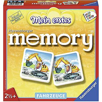 HanFei 21437 - Mein erstes memory Fahrzeuge, der Spieleklassiker fr die Kleinen, Kinderspiel fr alle