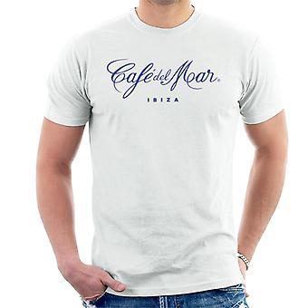 Cafe del Mar Classic Blue Logo Men's T-Shirt