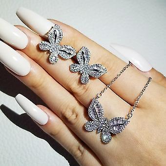 Butterfly Women Lady Anniversary Jewelry