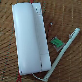 Indoor-Telefon für 2-Draht nicht-visuelle Gebäude Intercom-System