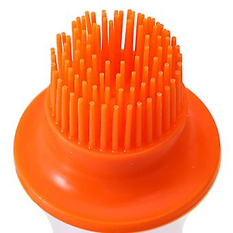 2pcs Silicone Oil Brush With Protective Cover