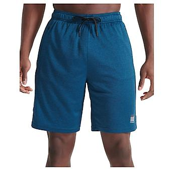 Superdry Training Relaxed Shorts Blu