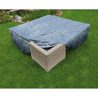 Natuurtuinmeubelenhoes voor lage tafelstoelen 325x205x70 cm