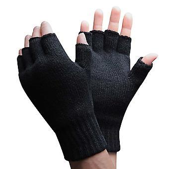 Pánske 3m tenkésulate zimné rukavice bez prstov