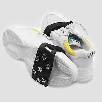 7 Tooth Alloy Anti-ice On Shoes Winter Snow Hiking Anti Slip Shoe Spikes