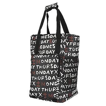 Nová vodotěsná nákupní taška Velká Oxford řiditelný potravinový tote kabelka ES9207