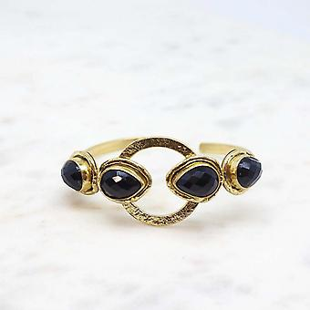 Bracelet Femme Niiki Paris - NCB123 - Noir - Collection Colors