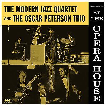 Modern Jazz Quartet &Oscar Peterson - Au vinyle de l'Opéra