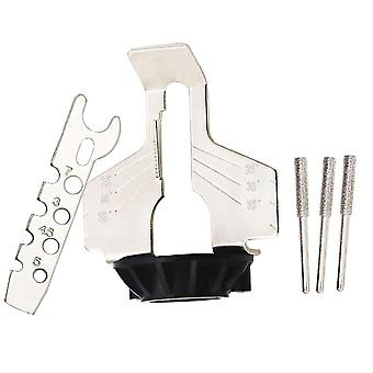 Chainsaw Sharpening Kit Electric Grinder Sharpening Polishing Attachment Set