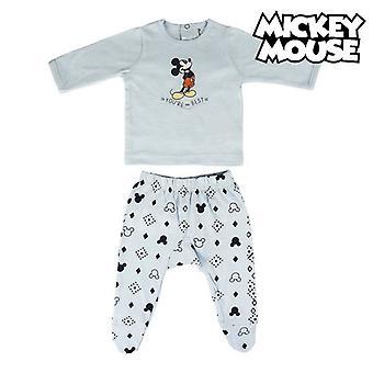 Baby Pyjamas Mickey Mouse Light blue