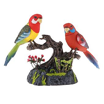 Păsări electrice acționate cu baterii, sunet de inducție simulat, control
