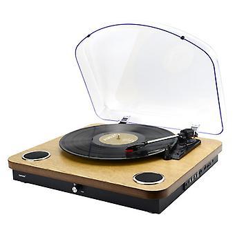 Recordista Denver Electronics VPL-210WOOD 5 W