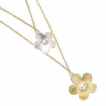 Ottaviani jewels necklace flowers 500087c