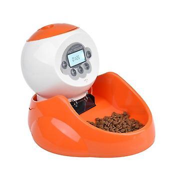 Elektryczny podajnik siedzenia dla zwierząt domowych automatyczne urządzenie do jedzenia kota i psa urządzenie do karmienia ilościowe