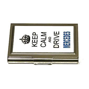 Korthållare -Keep calm and drive Mercedes