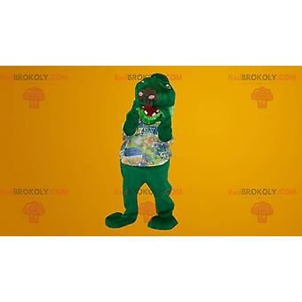 Mascote REDBROKOLY.COM cobra-dinossauro-crocodilo