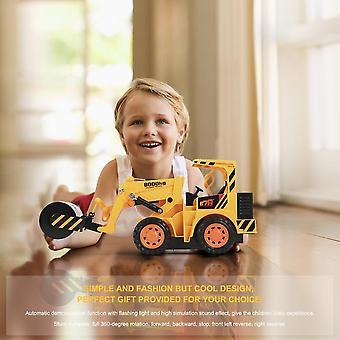 5ch Remote Control Stunt Simulation Tractors Electric Engineering Vehicles