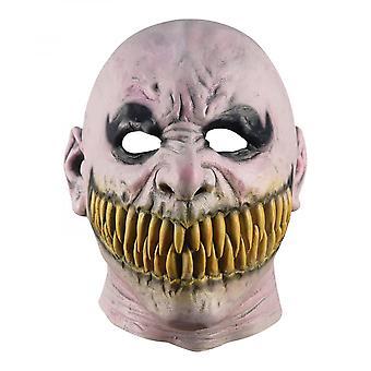 Gebarsten tand masker stalker horror masker latex Halloween masker