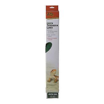 "Zilla Green Terrarium Liner - 40/50 Gallon Tanks - (17.25""L x 35.25""W)"