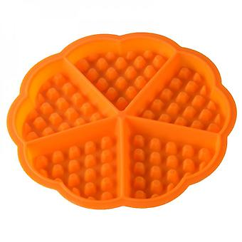 Thickened 5 Heart Shaped Silicone Waffle Mold