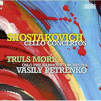 Shostakovich - Cello Cons 1 & 2 [CD] USA import