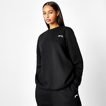 Slazenger Womens x Sophia And Cinzia Crew Neck Sweatshirt Pullover Sports Top