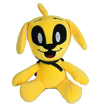 25cm Kawaii Mikecrack Mike Crack Plush Toys Cute Yellow Dog Soft Stuffed Dolls Toy For Children Birthday Christmas Gift