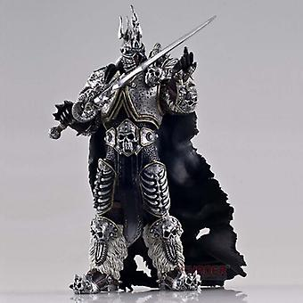 Qian Wow World Of Warcraft Figura 7 pulgadas Alsacia Rey Exánime Arthas Juego Figura de animación periférica