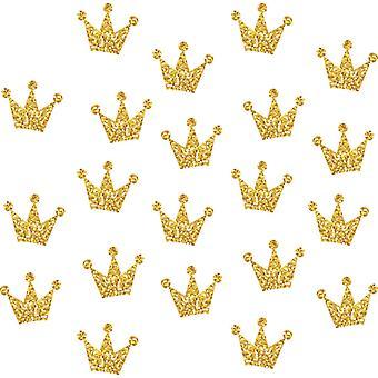 3 Pack Glod Crown Adesivi da parete Decalcomanie Camera da letto Decor Wallpaper Paste