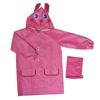 Süße Kinder Kinder Regenmantel Outwear Cartoon Kapuze Wasserdicht Regenmantel