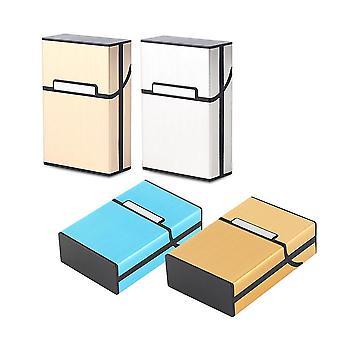 Leichte Aluminium Zigarette Zigarre Fall Pocket Box Behälter Aufbewahrungshalter