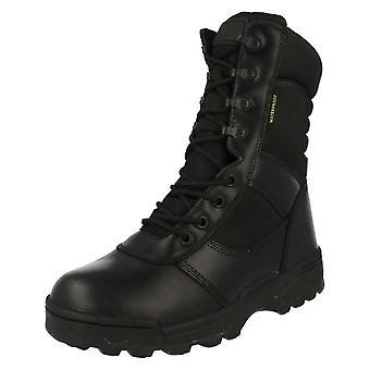 """Mens Dura-Max 8"""" Waterproof Zipper Boots 4106WP"""