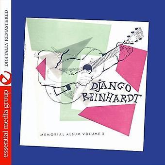 Django Reinhardt - Django Reinhardt: Vol. 3-Memorial Album [CD] USA import
