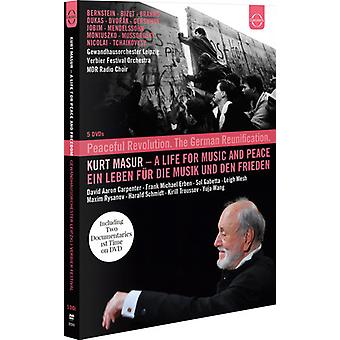 Kurt Masur - Kurt Masur: Life for Music & Peace [DVD] USA import