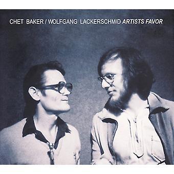 Chet Baker & Wolfgang Lackerschmid - import Künstler gefallen [CD]-USA
