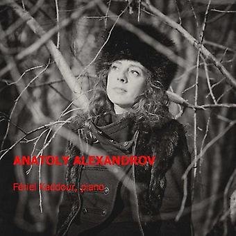 Alexandrov / Kaddour - Piano Music [CD] USA import