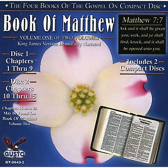 Book of Matthew - Chapters 1-15 [CD] USA import