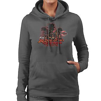Indiana Jones Blood Of Kali Mystical Black Ale Temple Of Doom Women's Hooded Sweatshirt