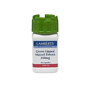Lamberts Green Lipped Mussel Extract 350mg, 90 tablets