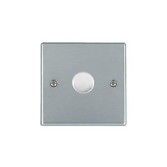 Hamilton Litestat Hartland Satin Chrome 1g 200VA 2 Way Dimmer SC