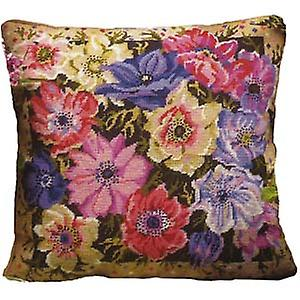 Anemone Garden Needlepoint Kit