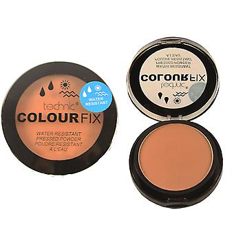 Technic ColourFix Water Resistant Pressed Powder Cinnamon
